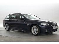 2014 (14 Reg) BMW 520D 2.0 M Sport Imperial Blue ESTATE DIESEL AUTOMATIC