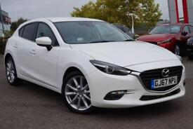 2017 Mazda 3 2.2d Sport Nav 5dr (Leather) Manual Diesel Hatchback
