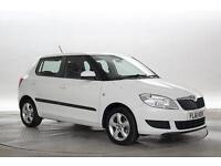 2011 (61 Reg) Skoda Fabia 1.2 TSi SE DSG White 5 STANDARD PETROL AUTOMATIC