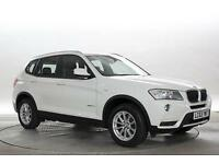 2014 (63 Reg) BMW X3 2.0 xDrive20d SE Alpine White DIESEL MANUAL