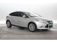 2013 (13 Reg) Ford Focus 1.0 EcoBoost 125 Titanium X # Silver 5 STANDARD PETROL