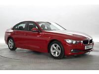 2012 (62 Reg) BMW 320D 2.0 EFFICIENTDYNAMICS Melbourne Red DIESEL MANUAL