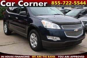 2011 Chevrolet Traverse LS | 7-PASSENGER WITH ALL WHEEL DRIVE!