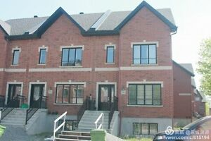 New townhouse in angrignon 4 rooms 4.5 toillets 2 indoor garage