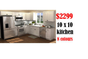 Kitchen cabinets $2299 10x10 new