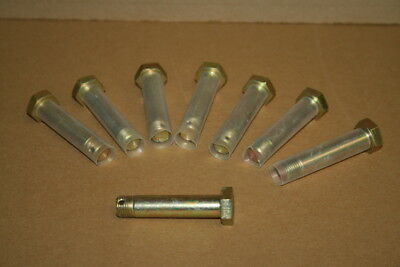 Shear Bolt Nas1108-30d 12-20 2.3in Drilled Unused Lot Of 8