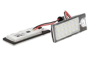 Set-Luces-Placa-Led-Volvo-V70-XC70-S60-S80-XC90-Blanco-Hielo
