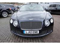2012 Bentley Continental GTC W12 Mulliner Driving Specifica Automatic Petrol Con