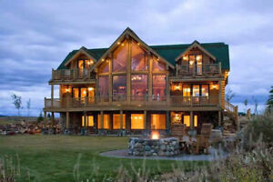 J A construction builds your dream warm log home