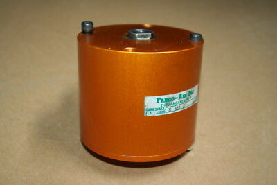 Pneumatic Cylinder 2.5 In Bore 2 In Stroke Double Acting Fabco-air Pancake
