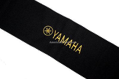 Yamaha Piano Key Cover - Black PREMIUM Felt Embroidered Keyb