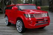Kids Toy Ride On Car Coupe Land Rover 12V 2x Motor, Leather Seat Hornsby Hornsby Area Preview