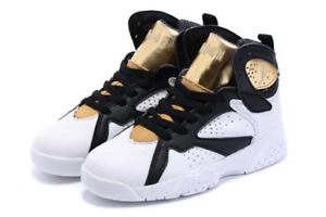 Jordan Retro 7 (Black/White/Gold)