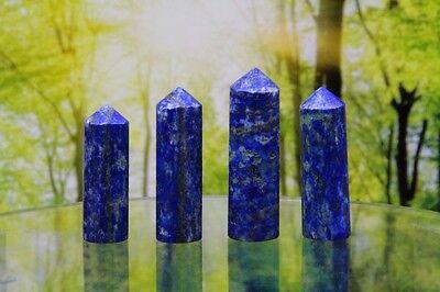 1 Lapis Lazuli Obelisk Energie Feng Shui Energiearbeit ca. 3 cm