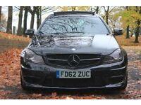 2012 62 MERCEDES C63 AMG COUPE 125 EDITION 507 PX SWAP BMW M3 M4 AUDI RS4 RS6 NISSAN GTR