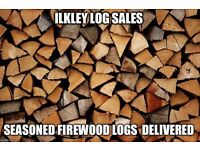 Ilkley log sale seasoned firewood logs