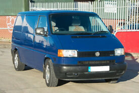 VOLKSWAGEN Transporter T4, panel van, kitted out as a basic camper 2002, 2461 cc, TDI