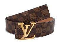 Men's Louis Vuitton belt brown lv belts