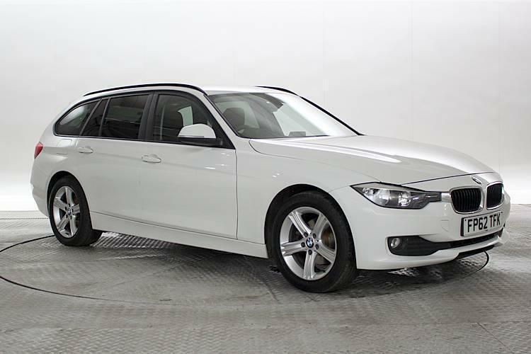 2012 62 reg bmw 316d 2 0 se touring white estate diesel manual in west london london gumtree. Black Bedroom Furniture Sets. Home Design Ideas