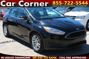 2016 Ford Focus SE - LOW KMS/FACTORY WARRANTY/BACKUP CAM/MORE!!