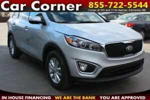 2017 Kia Sorento LX AWD/HEAT SEATS/XM RADIO/FACTORY WARRANTY!