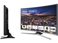 "UE48J6300 48"" Inch LED Full HD Freeview HD 1080p Smart Curved TV Original Box"