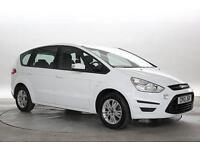 2013 (13 Reg) Ford S-Max 1.6 TDCi Zetec Frozen White MPV DIESEL MANUAL