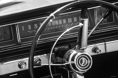1966 Chevrolet Impala Dash - Vinyl Banner Sign 24 36 48 60