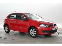2013 (13 Reg) Volkswagen Polo 1.2 S Red 5 STANDARD PETROL MANUAL