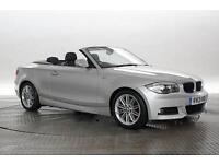 2013 (13 Reg) BMW 118D 2.0 M Sport Silver CONVERTIBLE DIESEL MANUAL