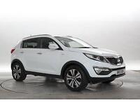 2013 (13 Reg) KIA Sportage 2.0 CRDi KX-3 White DIESEL MANUAL