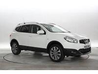 2013 (62 Reg) Nissan Qashqai+2 1.6 dCi Tekna 4x2 Arctic White 5 STANDARD DIESEL