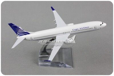Copa Airlines Boeing 737 800 Passenger Airplane Plane Aircraft Diecast Model