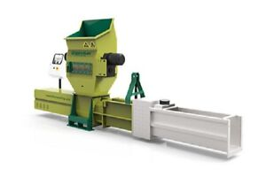 New GREENMAX Z-C200 EPS and EPE foam screw compactor
