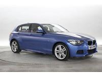 2014 (14 Reg) BMW 120D 2.0 M Sport Blue 5 STANDARD DIESEL MANUAL