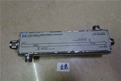 Hp 775d Dual Directional Coupler 450-940mhz 20db