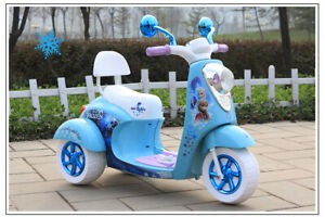 Frozen Scooter, Electric Car for kids, power wheel 416-850-3771