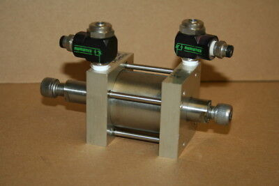 Pneumatic Cylinder Double Act Double End 1.5in Bore 1.25 Stroke Fsd-171.25 Bimba