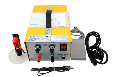 Pulse Sparkle Spot Welder 110v220v Electric Jewelry Welding Machine Gold Silver