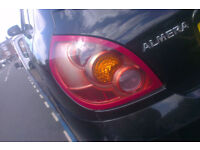 Nissan Almera N/S Rear Light Breaking For Parts (2003)