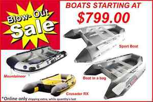 Inflatable boats (BLOW OUT SALE) Montréal
