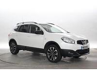 2013 (13 Reg) Nissan Qashqai+2 1.5 dCi 360 4x2 Storm White 5 STANDARD DIESEL MAN