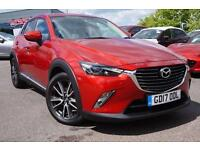 2017 Mazda CX-3 Sport Nav 1.5d 105ps AWD Manual Diesel Hatchback