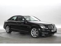 2012 (12 Reg) Mercedes C220 2.2 CDi BlueEFF Sport Black DIESEL MANUAL