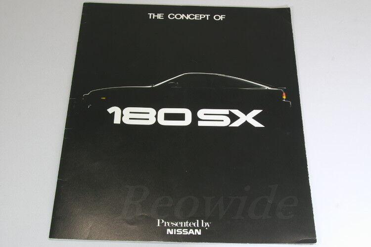 NISSAN 180SX Japanese Brochure 1989 Prospekt PS13 200SX