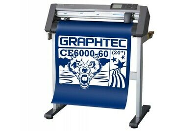 Graphtec Ce6000-60 Plus Vinyl Cutter Plotterfree Stand Free Shipping