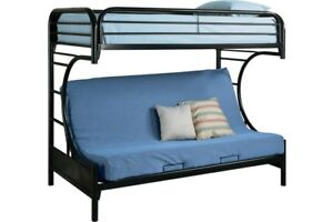 Twin over Futon/Double Bunk Bed (FRAME ONLY)