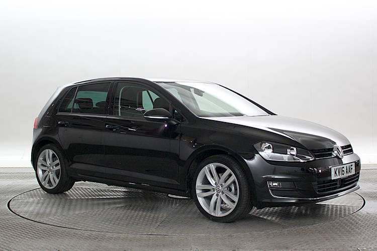 2016 16 reg volkswagen golf 1 6 tdi gt edition mk7 deep black 5 standard diese in west. Black Bedroom Furniture Sets. Home Design Ideas