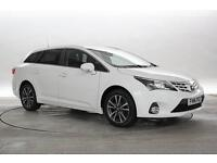 2014 (14 Reg) Toyota Avensis 2.2 D-CAT Icon Business Edition White ESTATE DIESEL