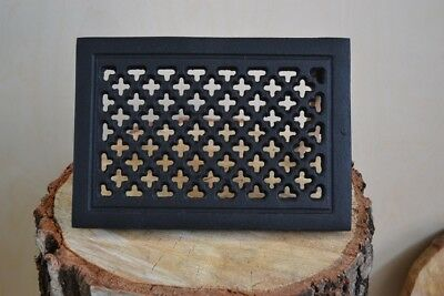 22,5 x 15,5 cm Cast iron AIR RETURN GRILLES Vintage Victorian Cover MIX  DZ070